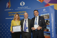 "Converse Bank wins the ""Deal of the Year – Social Impact"" award from the EBRD's Trade Facilitation Programme"