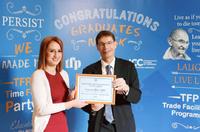 """Конверс Банк получил """"Содействие торговле Программа Academic Excellence Award"""" международную награду"""