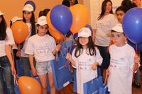 """Երեխաների պաշտպանության միջազգային օրը Կոնվերս Բանկում բացվեց """"Էօրնեկեան հանրակրթական դպրոցի"""" սաների նկարչական աշխատանքների ցուցահանդեսը"""