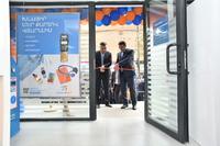 """Состоялось официальное открытие филиала """"Малатия"""" Конверс Банка"""