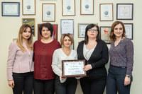 """Կոնվերս Բանկը կրկին արժանացել է KBC  բանկի """"Euro STP Excellence Award"""" մրցանակին"""