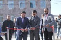 Открытием спортплощадки в Новом Хаджне Конверс Банк завершил широкомасштабный проект по пропаганде здорового образа жизни