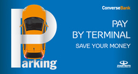 Payment of parking fee through terminal helps to save