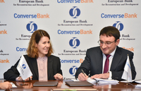 Converse Bank signed 8 million US dollars equivalent local currency two loan facilities with the European Bank for Reconstruction and Development