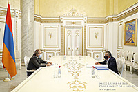 PM Pashinyan, Eduardo Eurnekian discuss investment programs