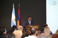 Converse Bank's experience was presented at the opening ceremony of Armenia-Argetine Chamber of Commerce in Armenia